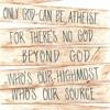 GOD'S ATHEIST (SOT)