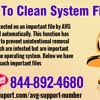 How to clean system files?