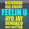KickRaux & Ras Kwame ft. Ayo Jay, Demarco, Doctor & Tyga - Feelin U
