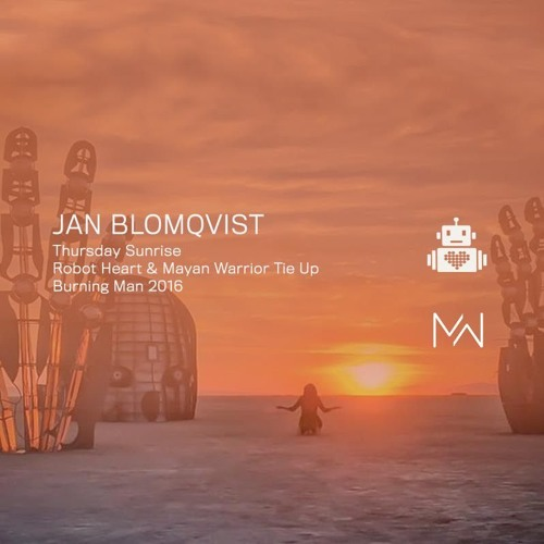Robot Heart - Jan Blomqvist Live At Robot Heart Bus Burning Man 2016