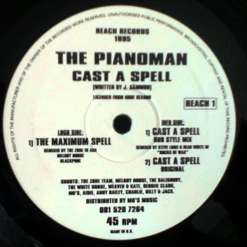 Pianoman - Cast A Spell (Decor's Revival Mix)