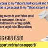What should I do to get access to my Yahoo account and messenger?