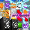 Dance style composition on the topic Candy crush  game theme
