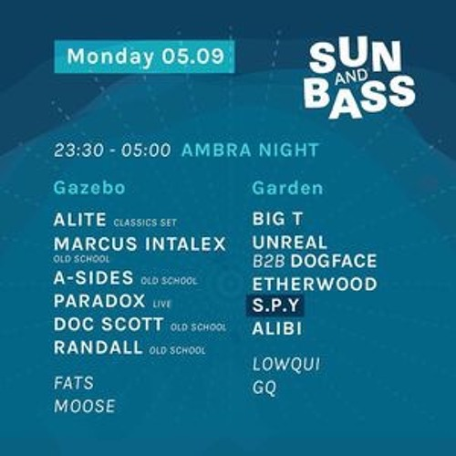 A Sides Live From Ambra Night - Sun & Bass 2016 (Old Skool Set)
