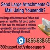 How to Send Large Attachments on Yahoo Mail Using YouSendIt?