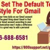 How To Set The Default Text Style For Gmail