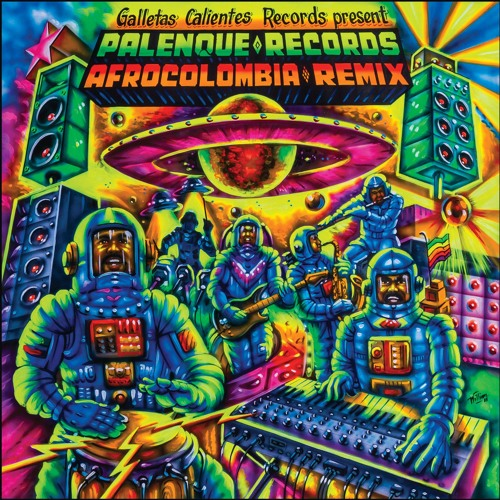 ★Out Now★ Palenque Records Afrocolombia Remix (Vinyl / Digital)