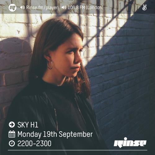 Rinse FM Podcast - Sky H1 - 19th September 2016