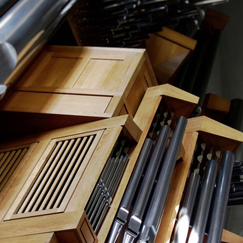 FANFARE AND POSTLUDE In D Major for Solo Organ. By Gabriel Ruiz-Bernal