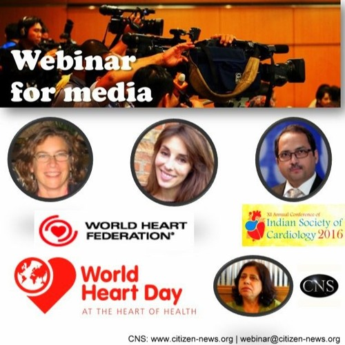Webinar in lead up to World Heart Day 2016