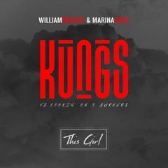Kings vs Cooking on 3 Burners  - This Girl ( William Ribeiro & Marina Diniz  )