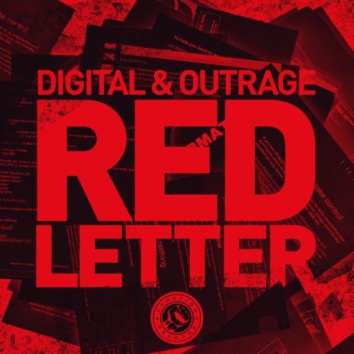 Digital & Outrage (Nomine) - Red Letter [LP]