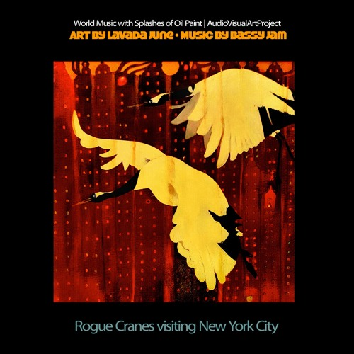 Rogue Cranes Visiting New York City