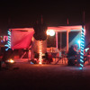 Live @ Le Kafe Burning Man 2015