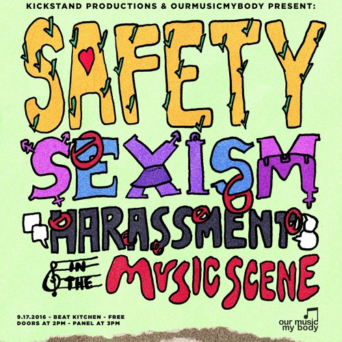 Safety, Sexism, & Harassment in the Music Scene