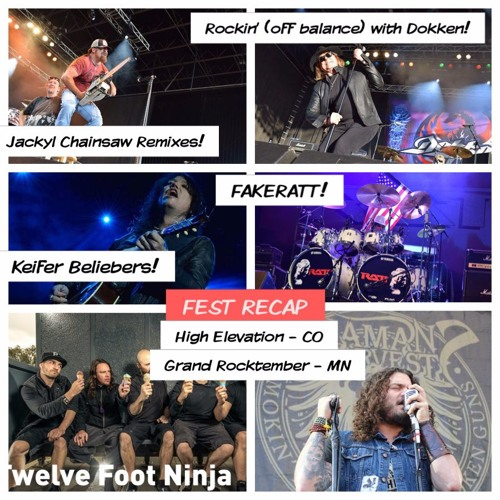Ep 49: End of Summer Fest Recap 1 - Volbeat, Tom Keifer, Crobot, Jackyl & Chainsaws (Part 1)