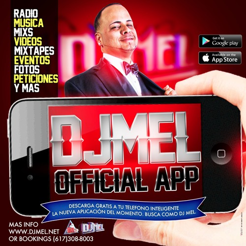 Merengue Bachata Tipico Mix - DJMEL En VIVO Mega 95.1 FM Sep2016
