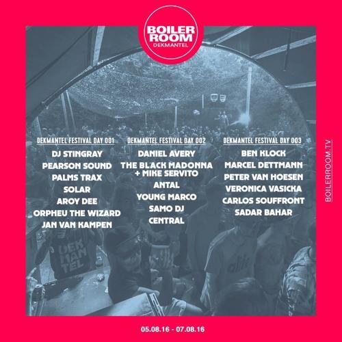 Central Boiler Room x Dekmantel Festival DJ Set