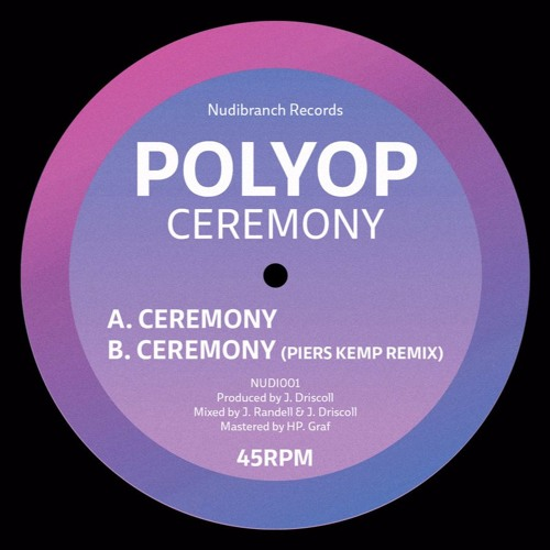 Ceremony (Out 7th November, Pre-Order Now)