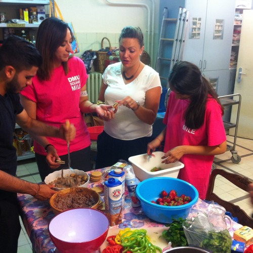 Students inspired by working with refugees in Berlin