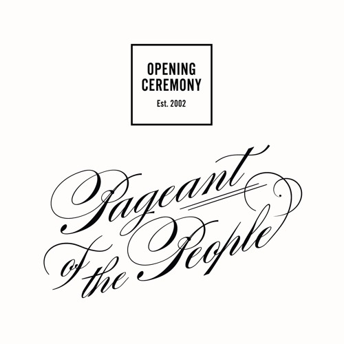 Opening Ceremony's Pageant of the People by Sam Spiegel