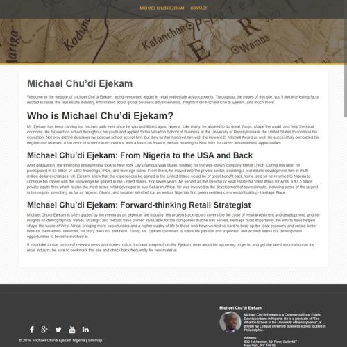 Michael Chudi Ejekam