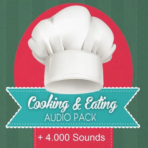 Cooking & Eating Audio Pack Demo Reel