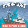 All Hands on Deck - Service Teams