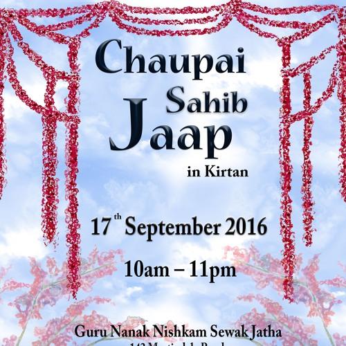 20. Bebe Nanaki Jatha - Bhai Narinderjit Singh Ji - Chaupai Sahib Jaap 2016