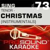 Mele Kalikimaka (Karaoke Instrumental Track) [In the Style of Bing Crosby]