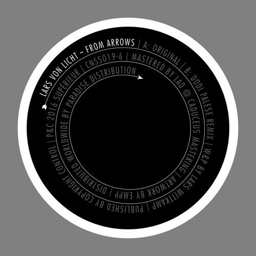 B - Side Lars Von Licht  - From Arrows (Dodi Palese Rmx) (Snippet)