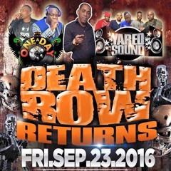 ONE A DAY v YARED - DEATH ROW RETURNS -  SEPT 23 2016