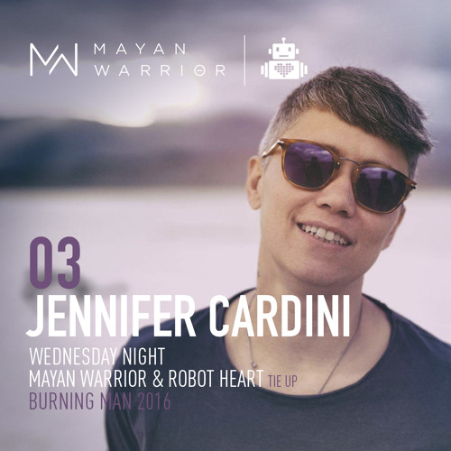 Jennifer Cardini - Mayan Warrior_Robot Heart Tie Up - Wednesday Night - Burning Man - 2016