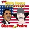 President Obama And Pedro - The Cake