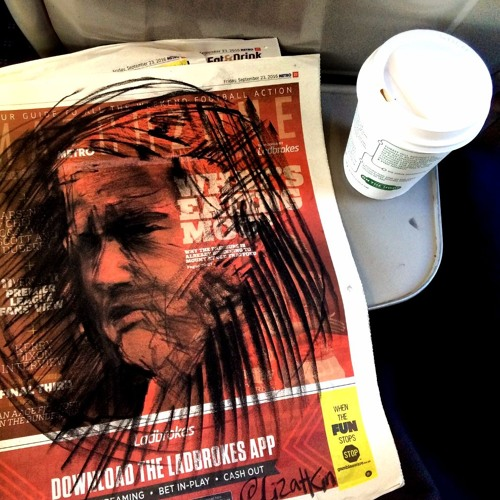 Ep 40: Drawing on the train with Liz Atkin's Compulsive Charcoal project