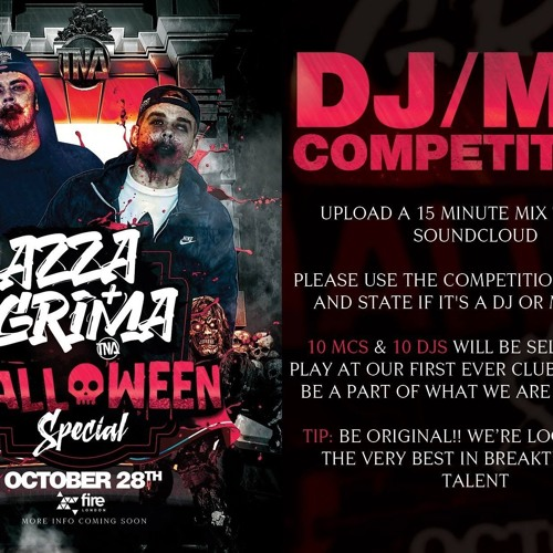 DJ JACKSKEE - AZZA & GRIMA HALLOWEEN SPECIAL - DJ COMPETITION