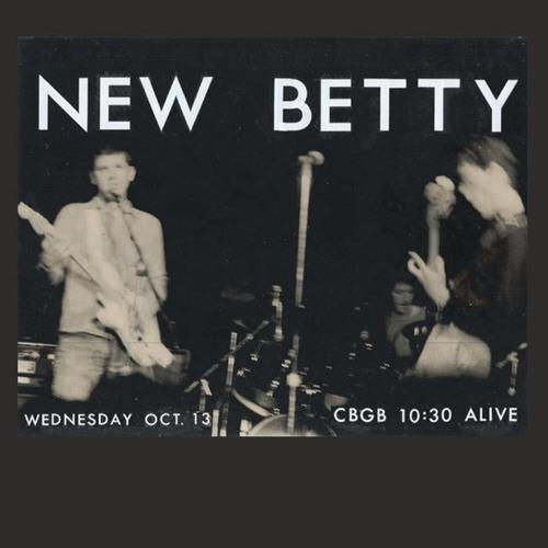 New Betty at CBGB 1982