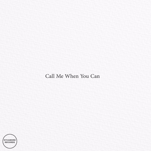 Conor Phillips-Call Me When You Can