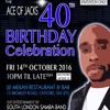 ACE OF JACKS 40TH BIRTHDAY CELEBRATION