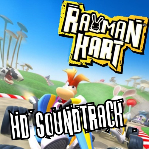 Rayman Kart - The Menu