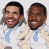 Rappers' Ordinary Lives(Drake, Kanye West, Lil Wayne, Eminem vs. Nichijou)