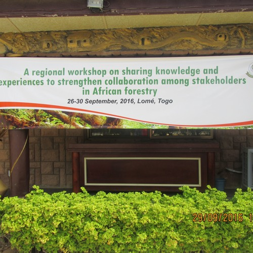 AFRICAN DIALOGUE/ AFRICAN FORESTRY FORUM- LOME, TOGO