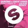 Quintino X Cheat Codes- Can't Fight It (Haade Remix)