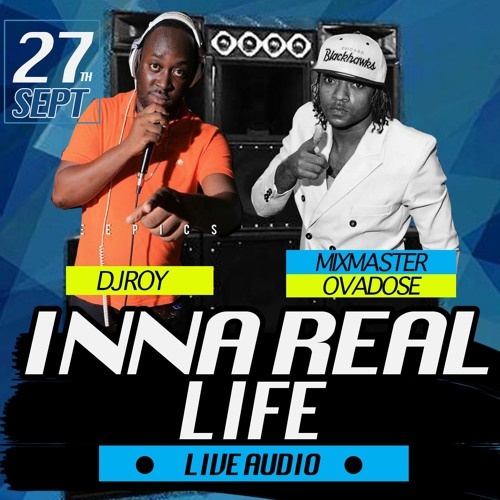 DJ ROY X MASTER OVADOSE AT INNA REAL LIFE [LIVE AUDIO] 27.9.2016