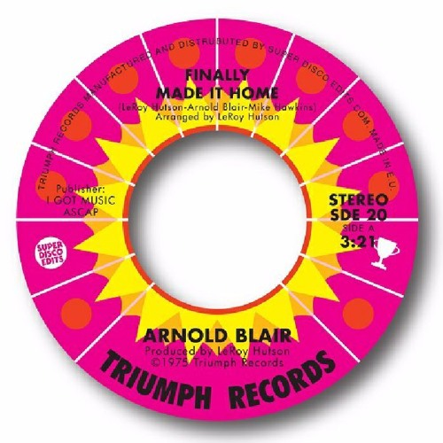 Arnold Blair - Finally made it home