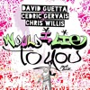 David Guetta Cedric Gervais And Chris Willis Would I Lie To You Piano Mp3