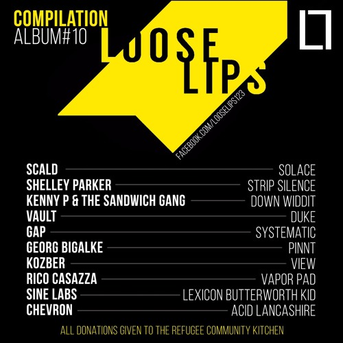 Shelley Parker - Strip Silence (Loose Lips Compilation Album #10 in aid of RCK)