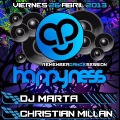 Sala Mondino  HAPPYNESS @ Dj Marta & Christian Millan