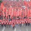 Buruh,Tani, Mahasiswa, Rakyat Miskin Kota Bersatu Dalam Satu Tujuan