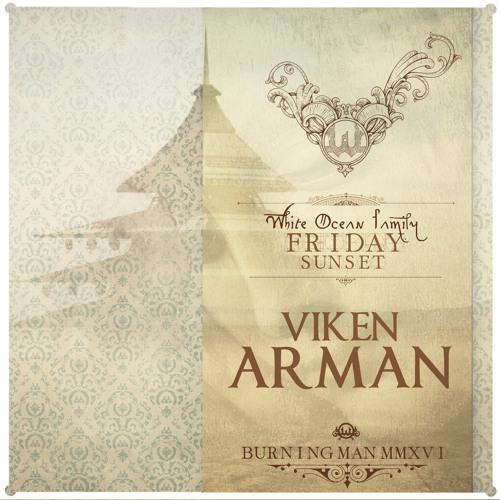 Viken Arman (Live) - White Ocean Sunset - Burning Man 2016